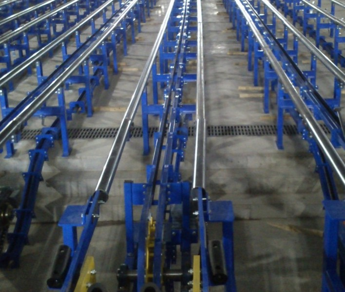 Installation of specialized conveyors