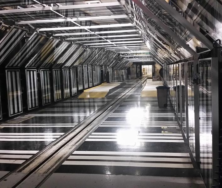 Instalace inspekční linky